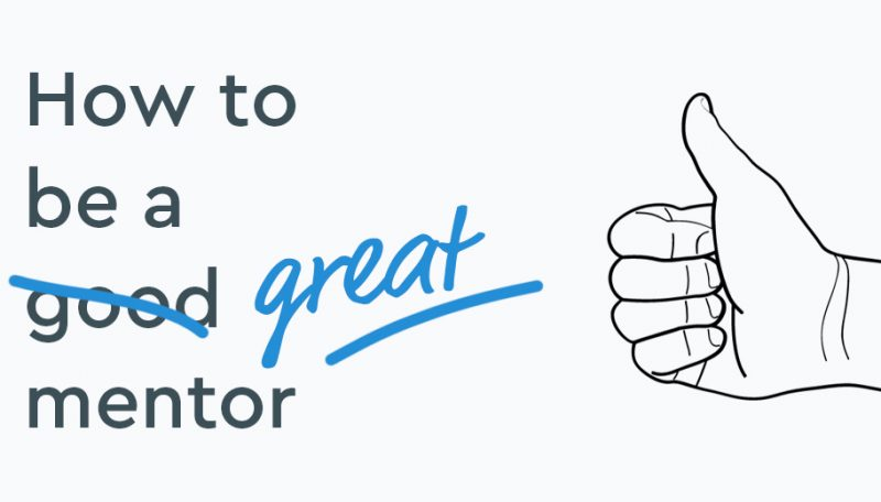 how to be a great mentor